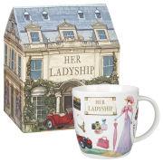 Queens at Your Leisure Squash Mug Her Ladyship Gift Box (275ml) - Multi