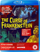The Curse of Frankenstein - Double Play (Blu-Ray and DVD)