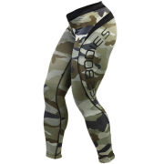 Better Bodies Camo Long Tights - Green