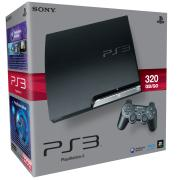 PS3: Sony Playstation 3 Slim Console (320 GB)
