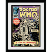 Doctor Who Cybermen Comic - 30x40 Collector Prints
