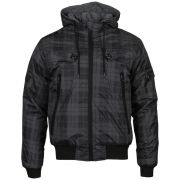 Brave Soul Men's Vision Jacket - Black Check