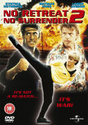 NO RETREAT NO SURRENDER 2  RAGING THUNDER DVD