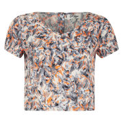 Madam Rage Women's Multi Print  Crop Top - Multi