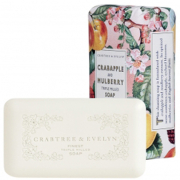 Crabtree & Evelyn Crabapple & Mulberry dreifach gefräste Seife (158 g)