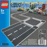 LEGO City: Placas rectas y placas de cruce (7280)