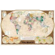 World Map Tripel Projection - Maxi Poster - 61 x 91.5cm