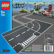 LEGO City: T-Kreuzung und Kurve (7281)