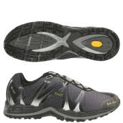 Hi-Tec V-Lite Infinity eVent Mens Trail Running Shoe - Black/Silver