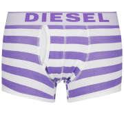 Diesel Men's Divine Boxer Trunk - Purple Stripe