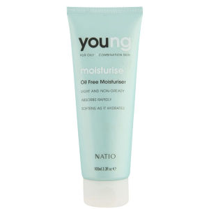 Crema hidratante sin aceite Natio Young (100ml)