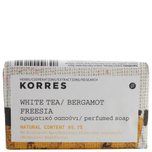 KORRES White Tea, Bergamot And Freesia Soap 125g