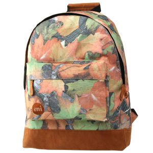 Mi-Pac Camo Autumn Print Backpack