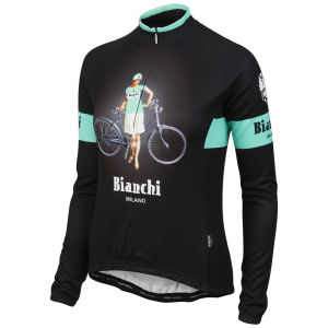 Bianchi Ramacca Women's Long Sleeve Jersey - Black