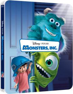 Monsters, Inc. 3D - Steelbook Exclusivo de Zavvi (Edición Limitada) (Incluye Versión 2D) (The Pixar Collection #6)