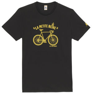 Le Coq Sportif Tour de France N9 Short Sleeved T-Shirt - Black