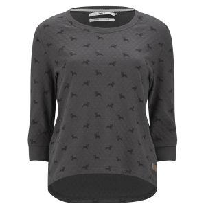 Only Women's Cameron Dog Print Sweatshirt - Phantom