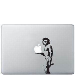 Banksy Caveman Macbook Decal