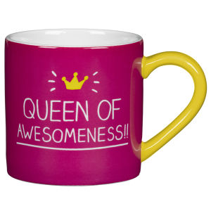 Tasse Queen Of Awesomeness -Happy Jackson