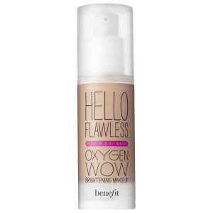 benefit Hello Flawless Oxygen Wow – I'm So Money, Fond de Teint Fluide Miel (30ml)