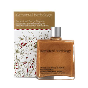 Elemental Herbology Botanical Body Repair Limited Edition Gold Shimmer Oil (100ml)