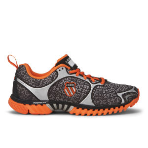 K-Swiss Men's Kwicky Blade-Light Running Shoes - Black/Silver/Orange