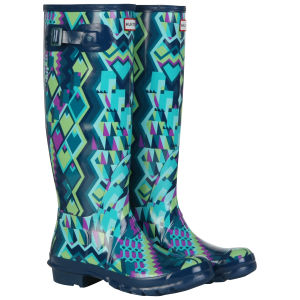 Hunter Women's Original Hoxton Tall Wellies - Green