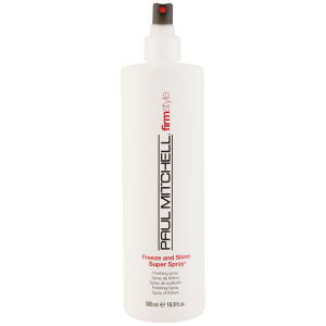 Paul Mitchell Firm Style Freeze And Shine Super Spray (500ml)