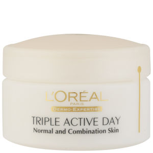 L'Oréal Paris Dermo Expertise Triple Active Multi-Protection Day Moistriser - Normal / Combination (50ml)