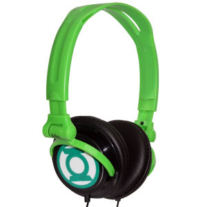iHip DC Comics Green Lantern Folding Headphones