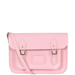 The Cambridge Satchel Company 13 Inch Leather Satchel - Pastel Pink