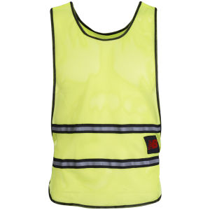 New Balance Unisex Hi Vis Running Bib - Yellow