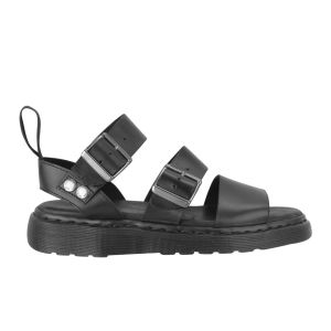 Dr. Martens Gryphon Strap Leather Sandals - Black