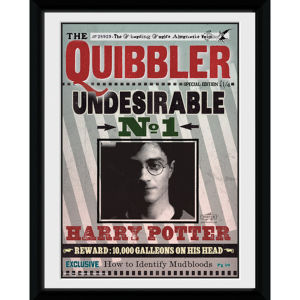 Harry Potter The Quibbler - 8x6 Framed Photographic