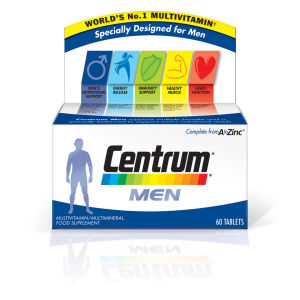 Centrum Men Multivitamin Tablets – (60 tabletter)