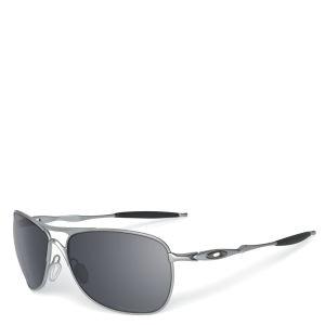 Oakley Men's Crosshair Matte Iridium Sunglasses - Lead