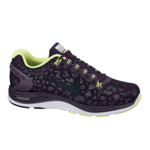 Nike Women's LunarGlide+ 5 Shield Running Shoe - Purple/Dry