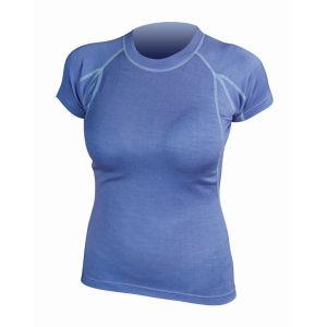 Endura Women's BaaBaa Merino Short Sleeve Base Layer - Blue