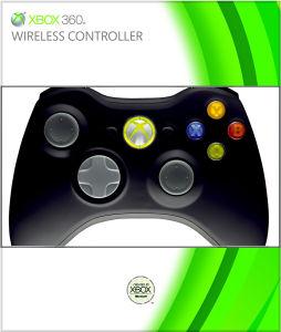 Xbox 360 Black Controller