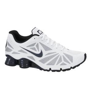 Nike Men's Shox Turbo 14 Running Shoes - White/Black