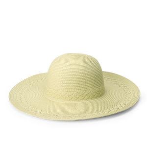 Boardman Bros Women's Braided Floppy Hat - Natural