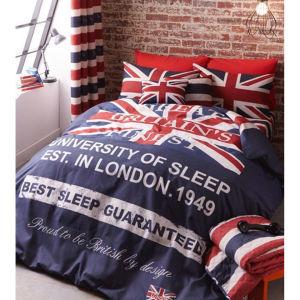 Catherine Lansfield Britains Finest Bedding Set - Navy