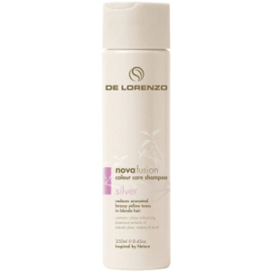 DE LORENZO NOVAFUSION COLOUR CARE SHAMPOO - SILVER (250ML)