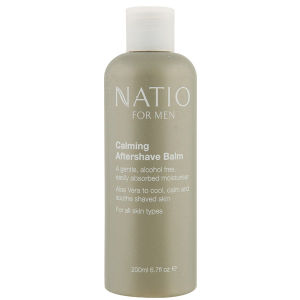Natio For Men Calming Aftershave Balm -rauhoittava aftershave-balsami (200ml)