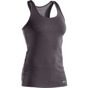 Under Armour Women's Victory Tank Top - Carbon Heather/Aluminium