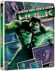 Incredible Hulk - Import - Limited Edition Steelbook (Region Free)