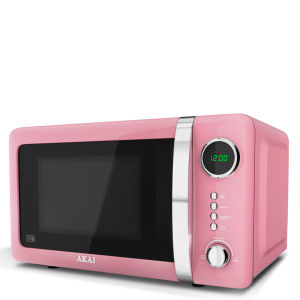 Akai 700W Digital Microwave - Baby Pink