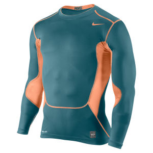 Nike Men's Hypercool Compression Long Sleeve Top 2.0 - Green