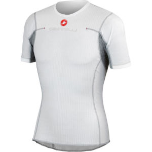 Castelli Flanders Short Sleeve Base Layer - White