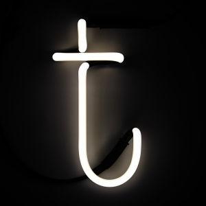 Seletti Neon Wall Light - Letter T